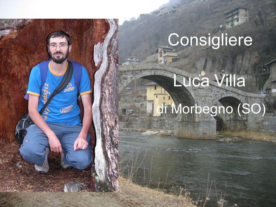 Luca Villa di Morbegno (SO) Consigliere