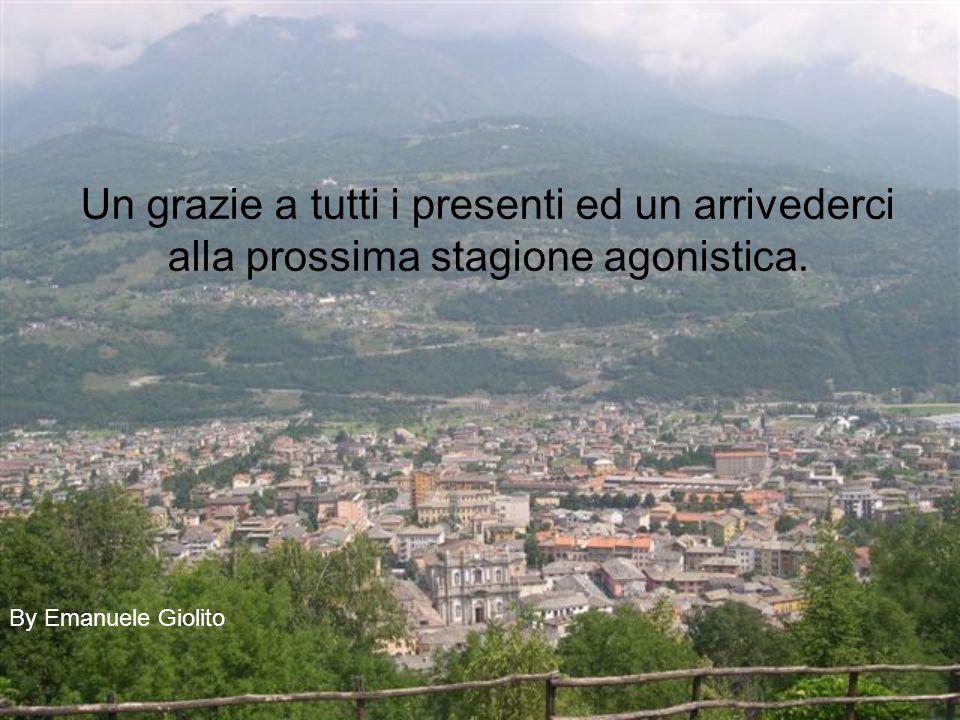 Un grazie a tutti i presenti ed un arrivederci alla prossima stagione agonistica. By Emanuele Giolito
