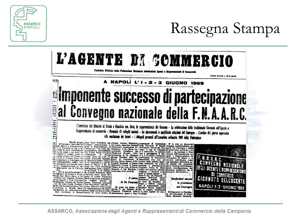 ASSARCO, Associazione degli Agenti e Rappresentanti di Commercio della Campania Rassegna Stampa