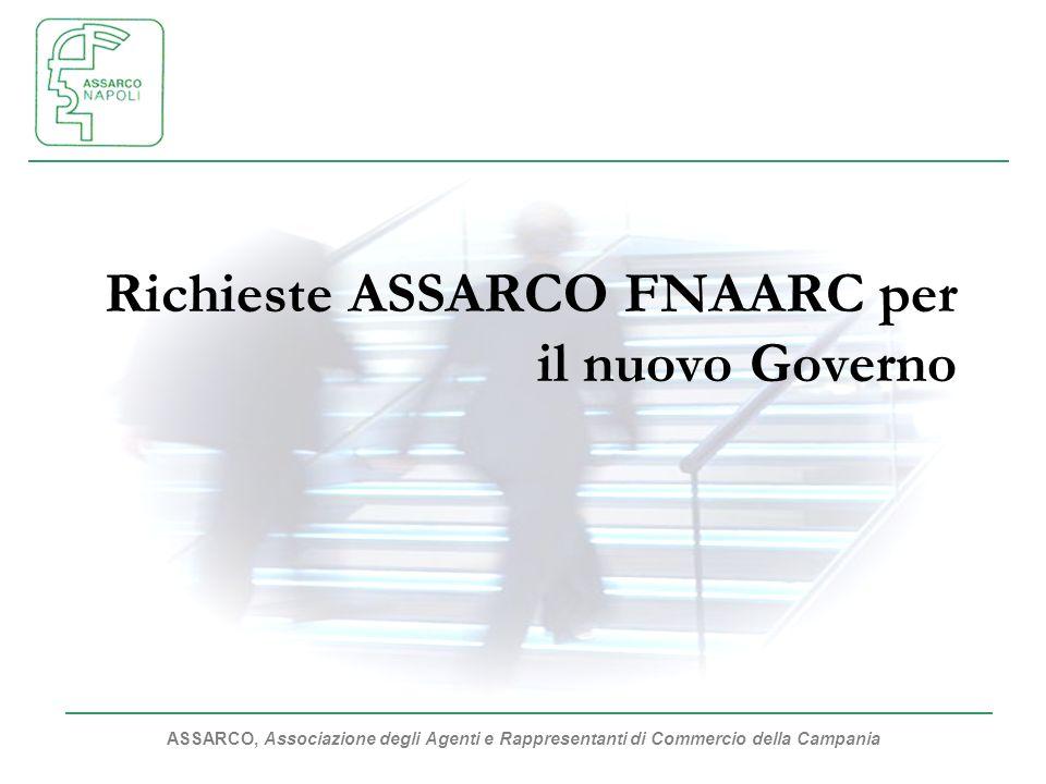 Richieste ASSARCO FNAARC per il nuovo Governo