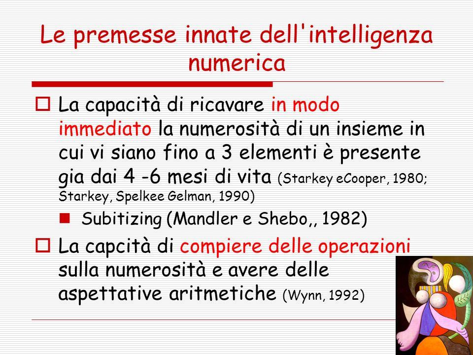 Criteri di individuazione nella scuola DISCREPANZA TRA INTELLIGENZA e Abilità matematiche e di calcolo Scrittura e/o lettura dei numeri Immagazzinamento dei fatti aritmetici: somme di numeri in coppia tabelline (più avanti) enumerazione indietrio