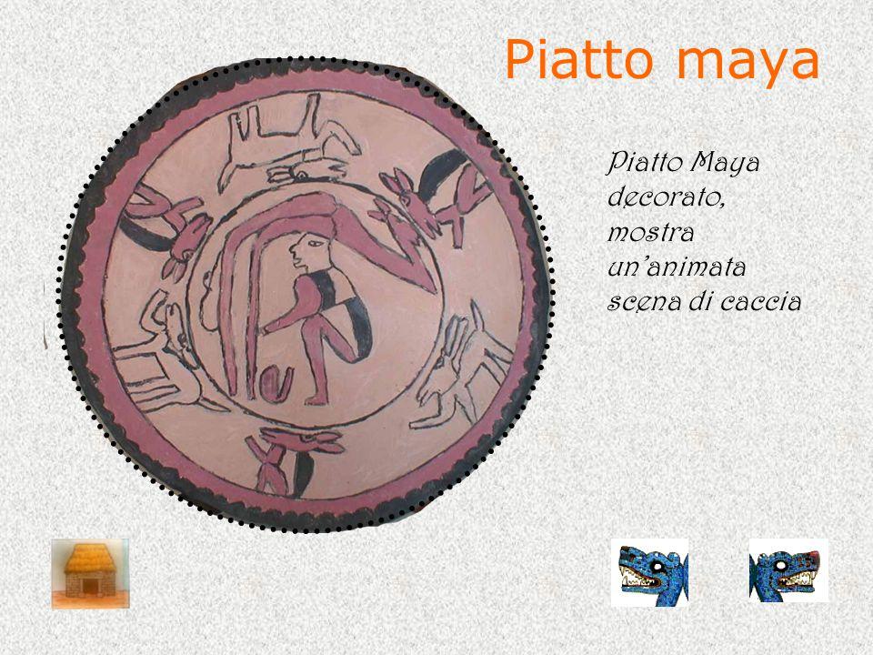 Decorazioni murali Decorazioni murali rappresentanti gli aztechi