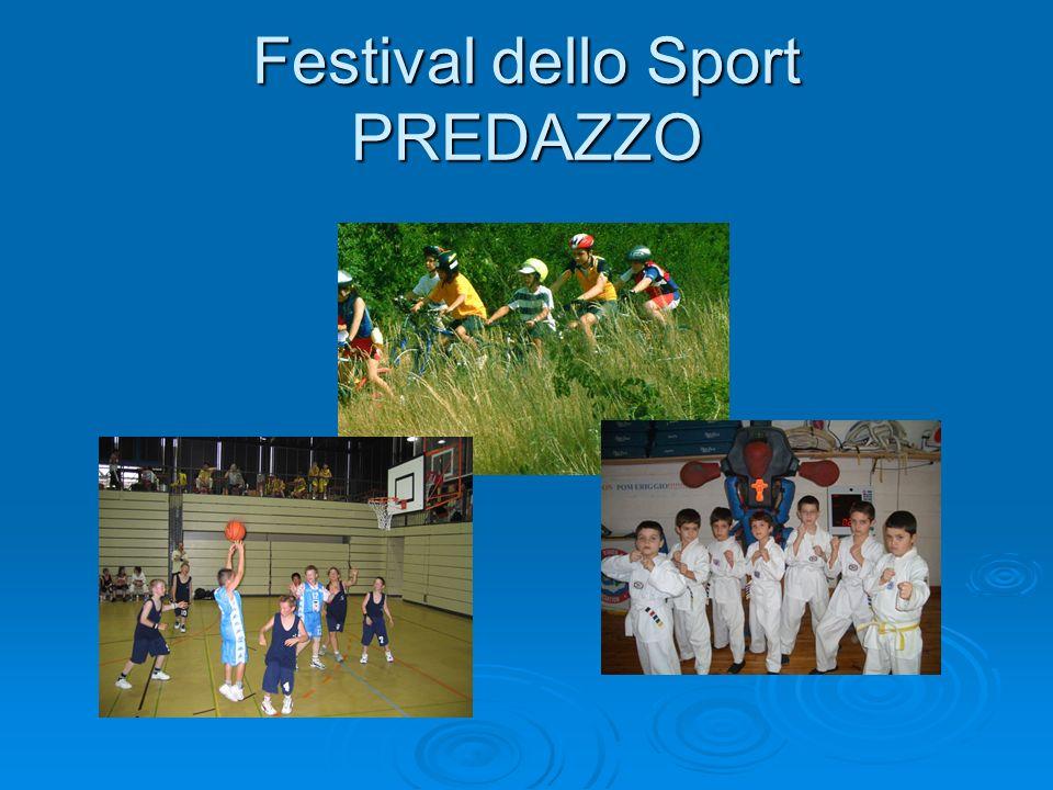 Festival dello Sport PREDAZZO