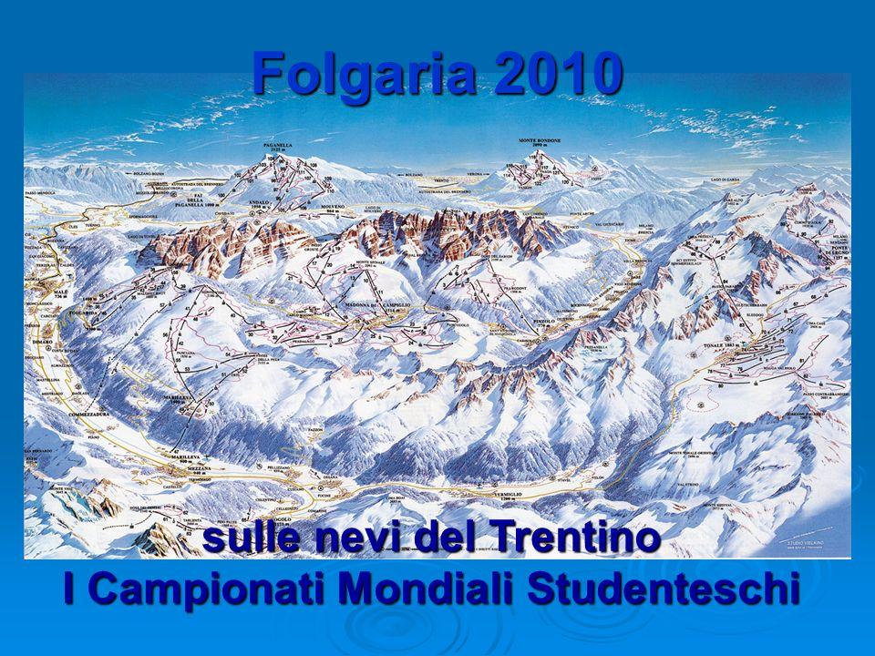 sulle nevi del Trentino I Campionati Mondiali Studenteschi Folgaria 2010