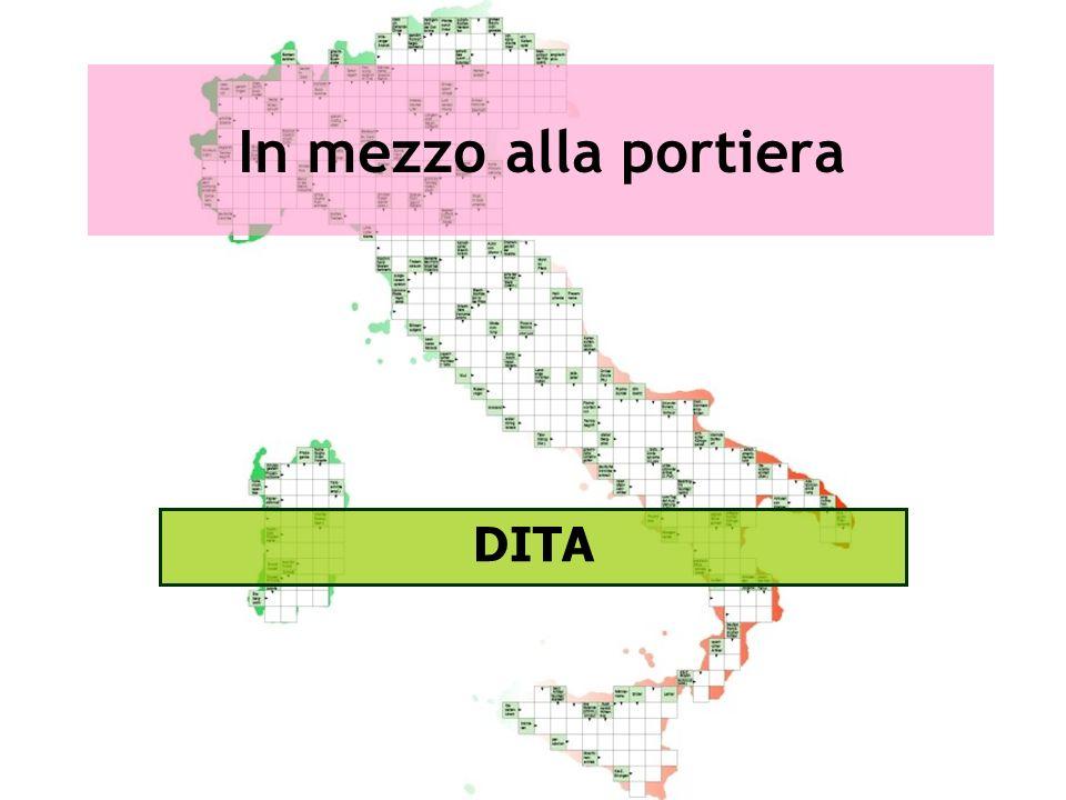 In mezzo alla portiera DITA