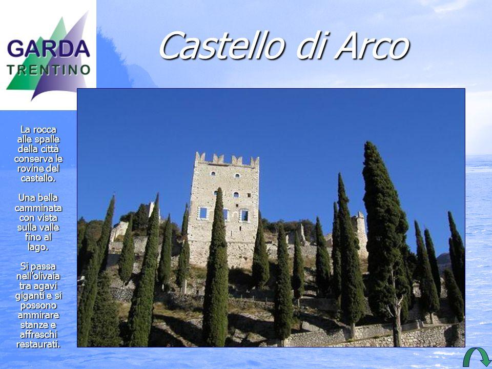 Castello di Arco Albrech Durer ha Durer ha dipinto dipinto questo questoAcque- rello con il castello il castello di Arco.