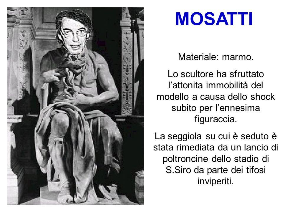 MOSATTI Materiale: marmo.