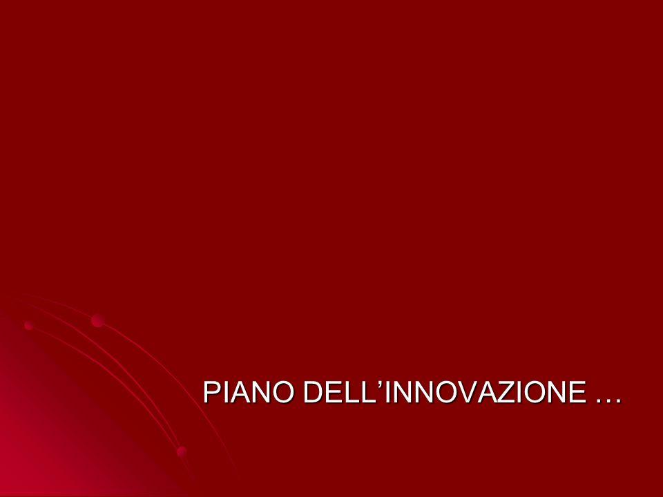 PIANO DELLINNOVAZIONE …