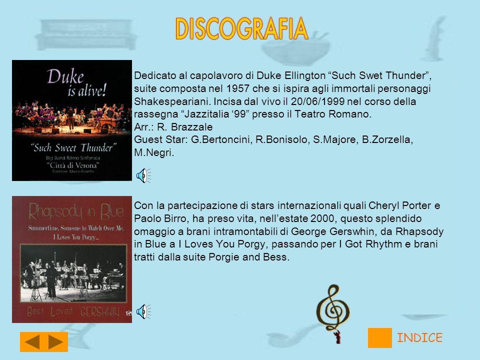 Dedicato al capolavoro di Duke Ellington Such Swet Thunder, suite composta nel 1957 che si ispira agli immortali personaggi Shakespeariani. Incisa dal