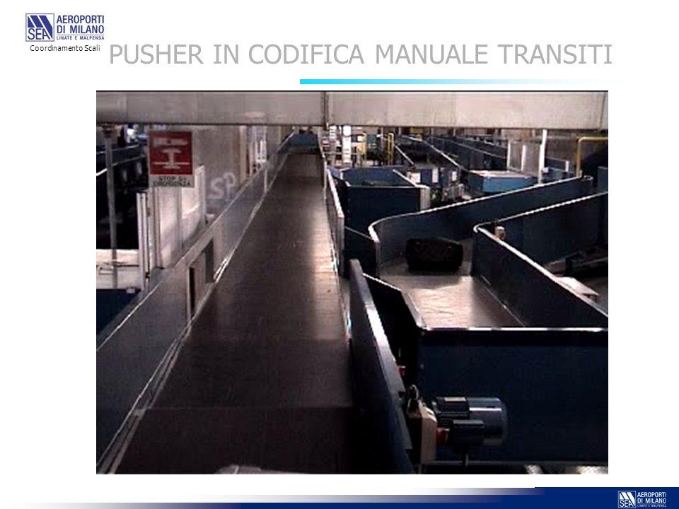 PUSHER IN CODIFICA MANUALE TRANSITI Coordinamento Scali