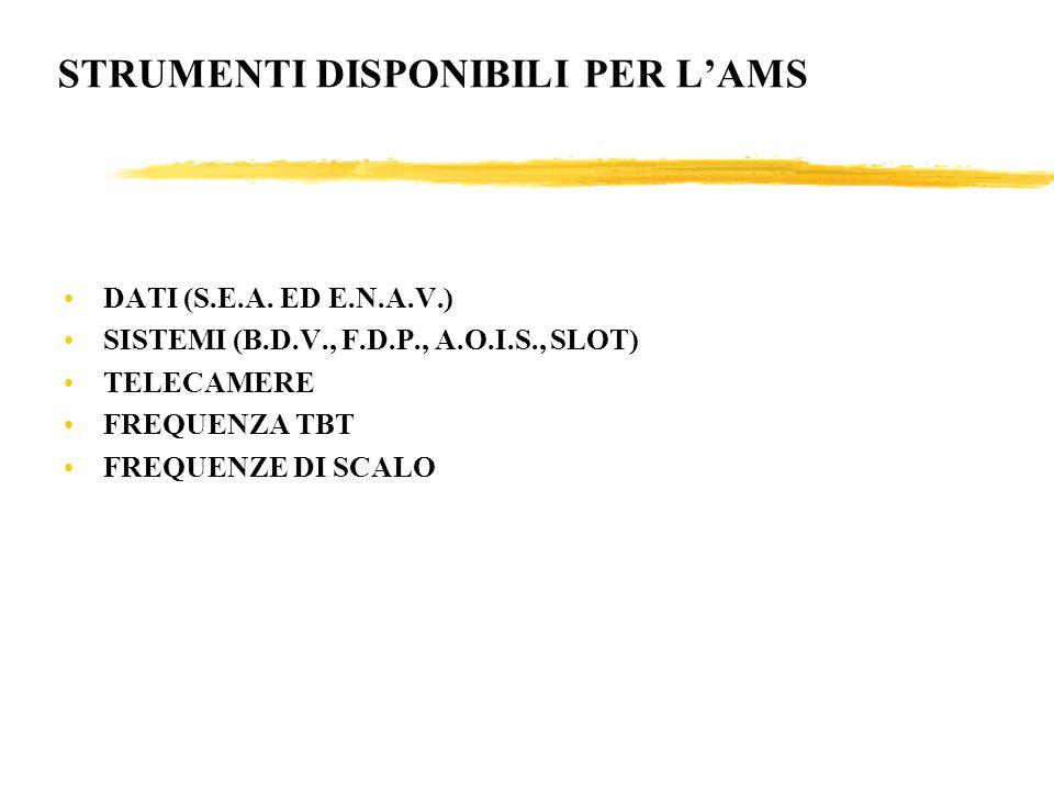 STRUMENTI DISPONIBILI PER LAMS DATI (S.E.A.
