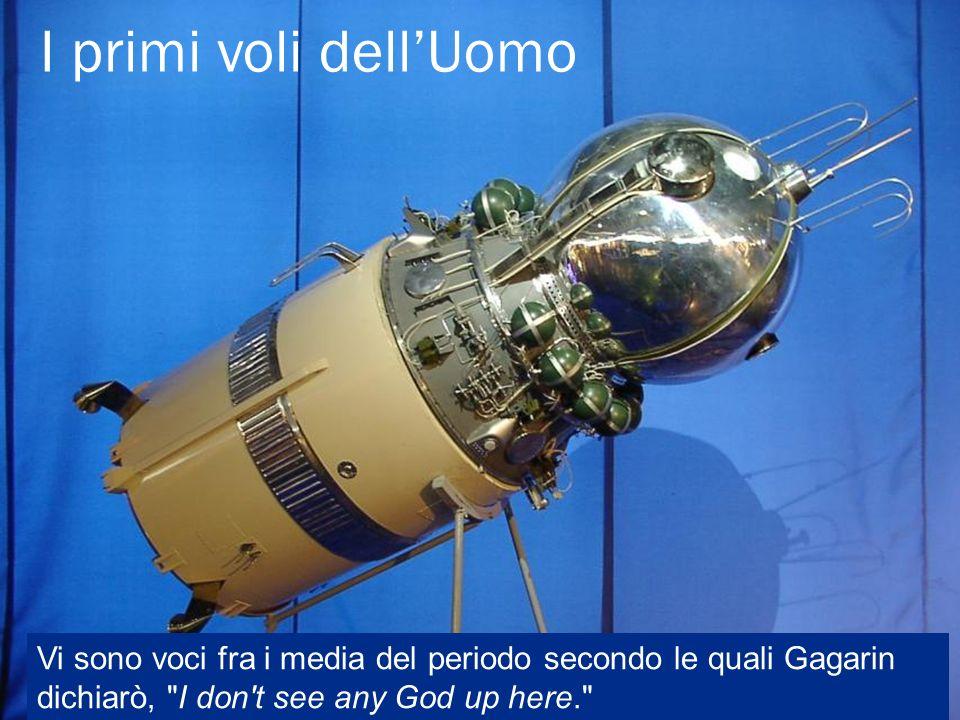 Vi sono voci fra i media del periodo secondo le quali Gagarin dichiarò, I don t see any God up here.