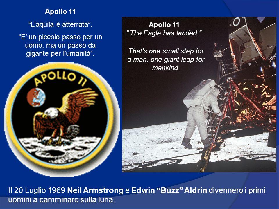 Il 20 Luglio 1969 Neil Armstrong e Edwin Buzz Aldrin divennero i primi uomini a camminare sulla luna.