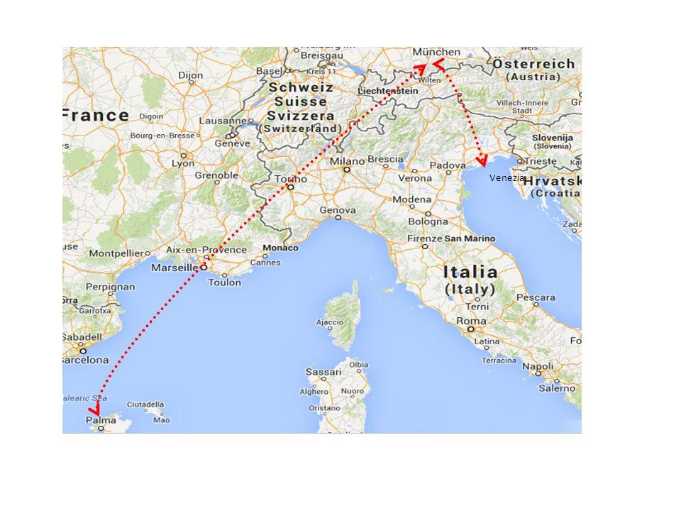 Programma Partenza 01 maggio 2014 alle ore 08.30 Dal Palazzetto Cus in via delle Scienze 100 a Udine Trasferimento in pullman fino allareoporto Marco Polo di Venezia Check-in alle ore 12.45 Decollo alle ore 13.30 Scalo a Monaco alle ore 14.35 con ripartenza alle ore 15.25 Arrivo alle ore 17.35 a Palma Mallorca