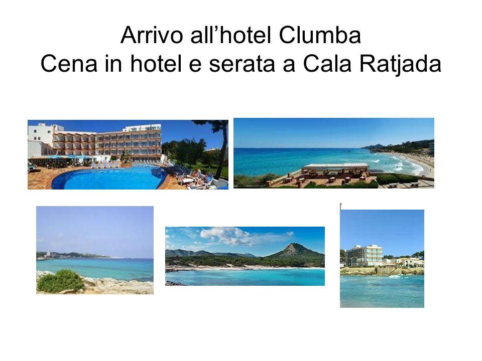 Per coloro che non volessero pedalare mattinata libera Gita per tutti a Cap de Formentor Cena e festa finale all Hotel Clumba