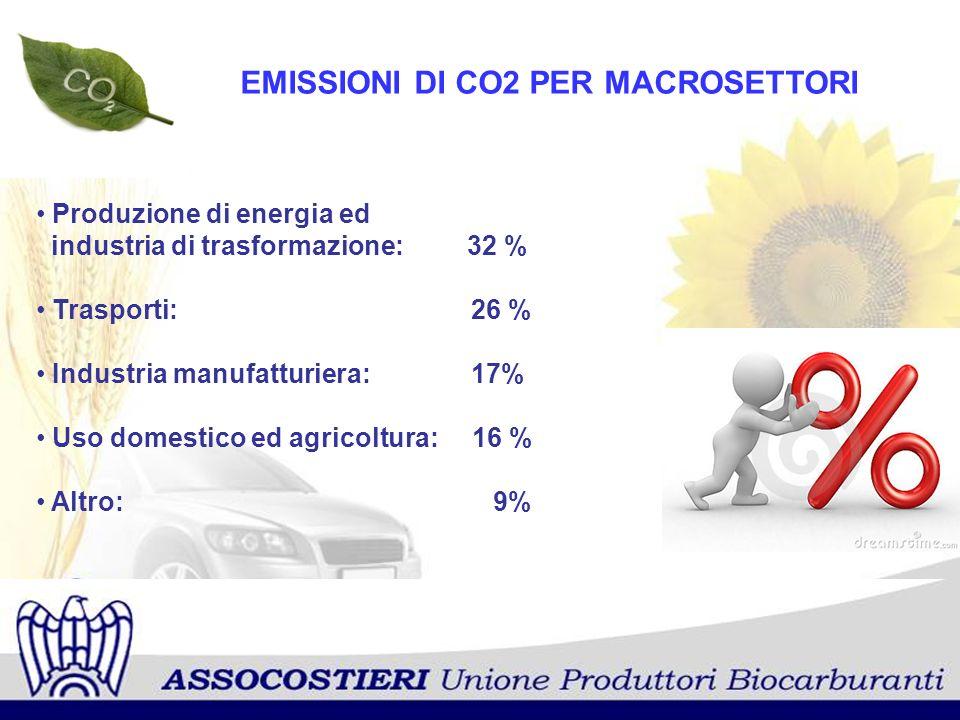 Fonte: CNIT I TRASPORTI E LA CO2 Le autovetture incidono per il 57 %.