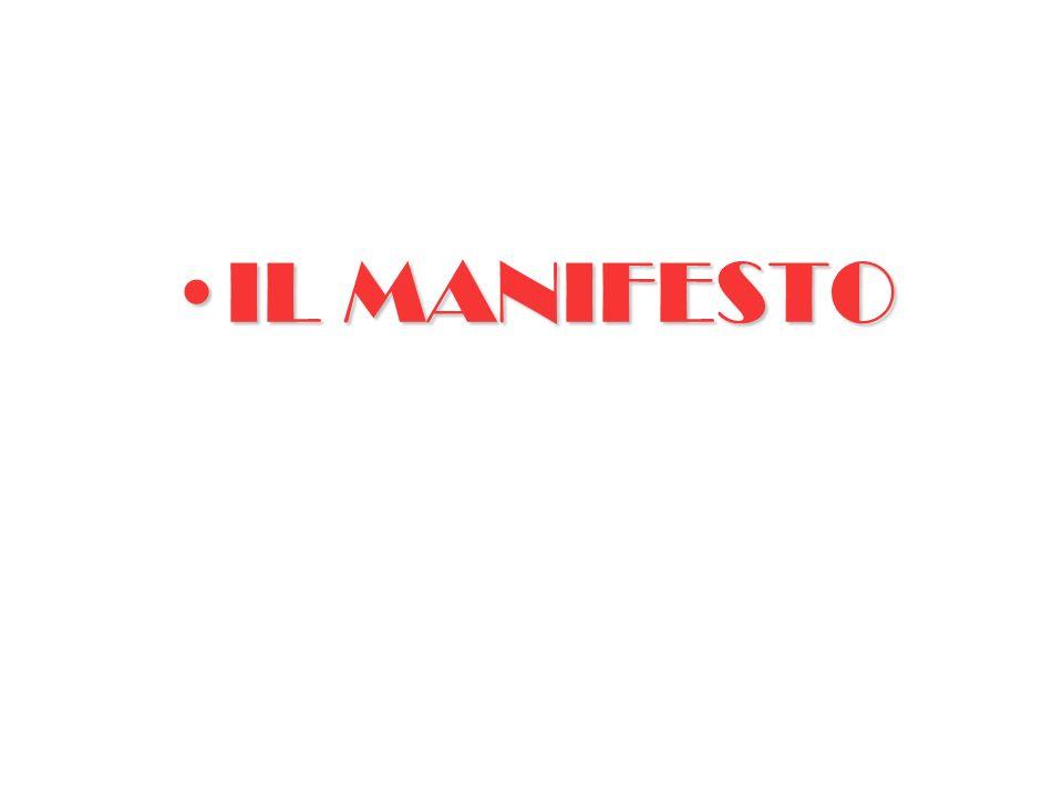 IL MANIFESTOIL MANIFESTO