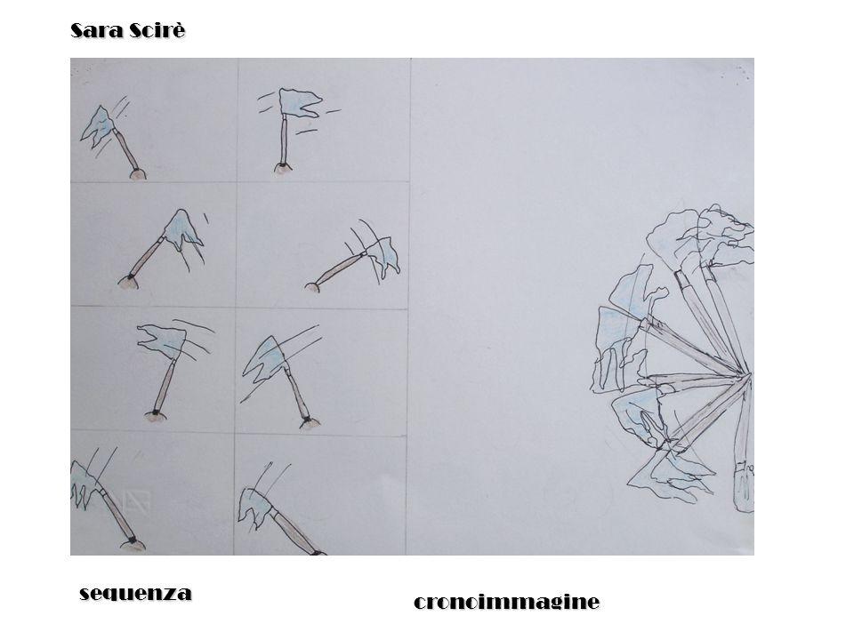 sequenza cronoimmagine Sara Scirè