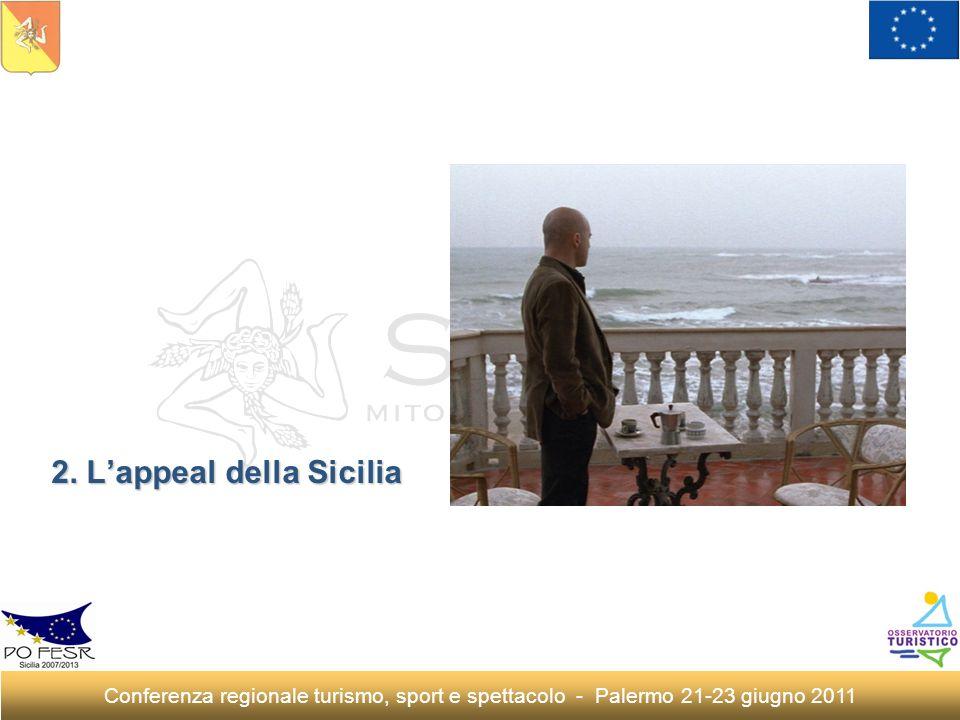 2. Lappeal della Sicilia Conferenza regionale turismo, sport e spettacolo - Palermo 21-23 giugno 2011