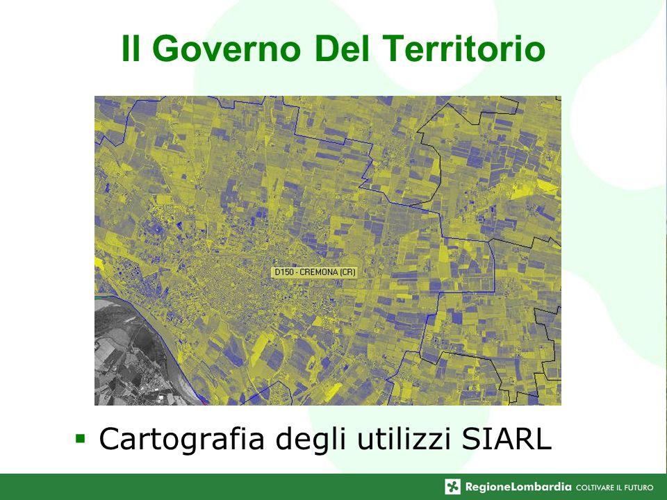 Cartografia degli utilizzi SIARL Il Governo Del Territorio
