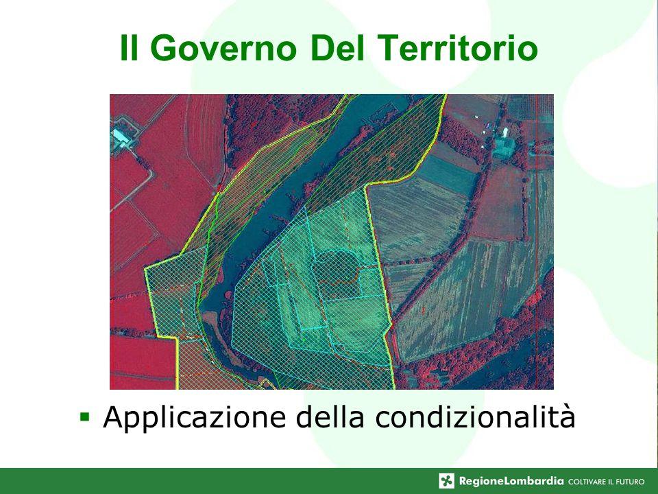 Applicazione della condizionalità Il Governo Del Territorio