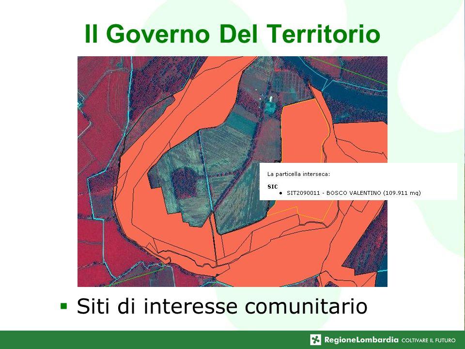 Siti di interesse comunitario Il Governo Del Territorio