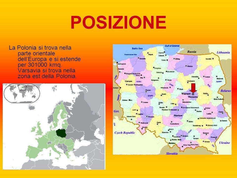 POPOLAZIONE LINGUA La lingua parlata a Varsavia e in tutto lo stato è il polacco, una lingua di origine slava occidentale e usato come lingua madre da circa 44 milioni di persone.