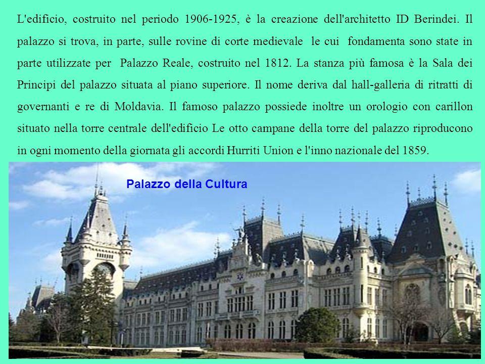L'edificio, costruito nel periodo 1906-1925, è la creazione dell'architetto ID Berindei. Il palazzo si trova, in parte, sulle rovine di corte medieval