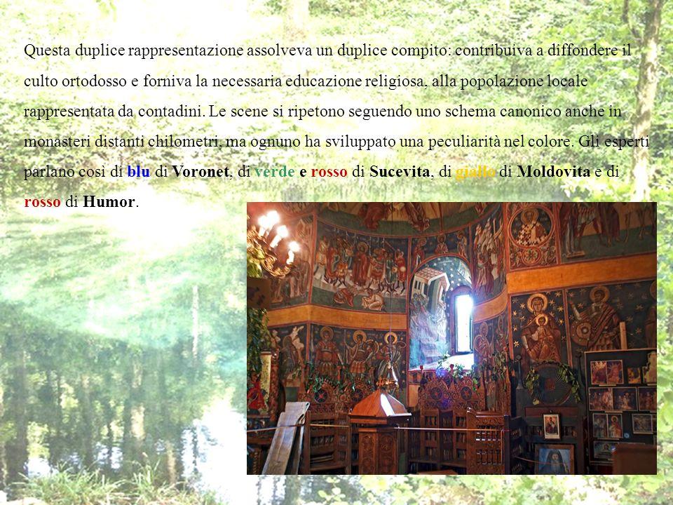 Questa duplice rappresentazione assolveva un duplice compito: contribuiva a diffondere il culto ortodosso e forniva la necessaria educazione religiosa