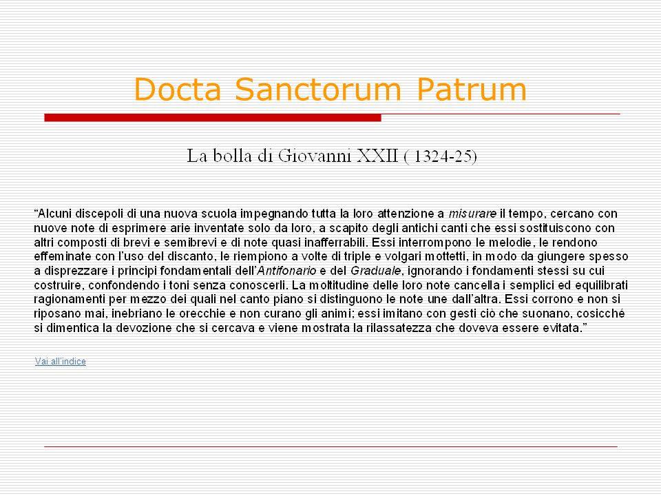 Docta Sanctorum Patrum Vai allindice
