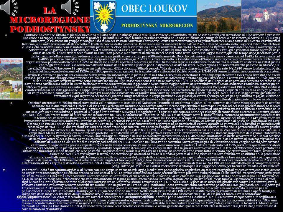08/04/2014Antonio Celeri14 LA MICROREGIONE PODHOSTYNSKY 4. Chomyz è un comune di 360 abitanti(censimento28/8/2006),ai piedi dei monti Hostynsky,con un