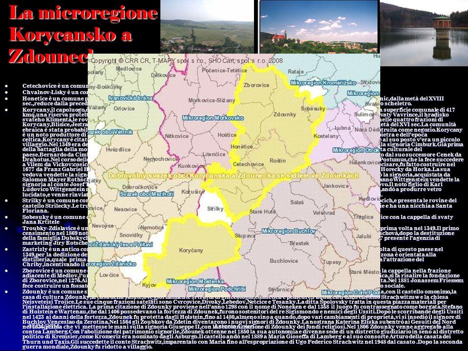 08/04/2014Antonio Celeri5 La microregione Chriby Barice-Velkè Tesany,comprensivo delle due frazioni omonime,apparteneva pur esso alla contea di Kromer
