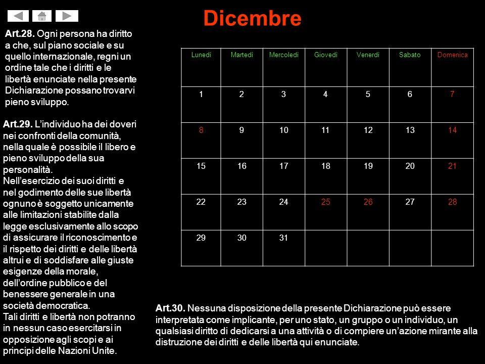 Dicembre Art.28.