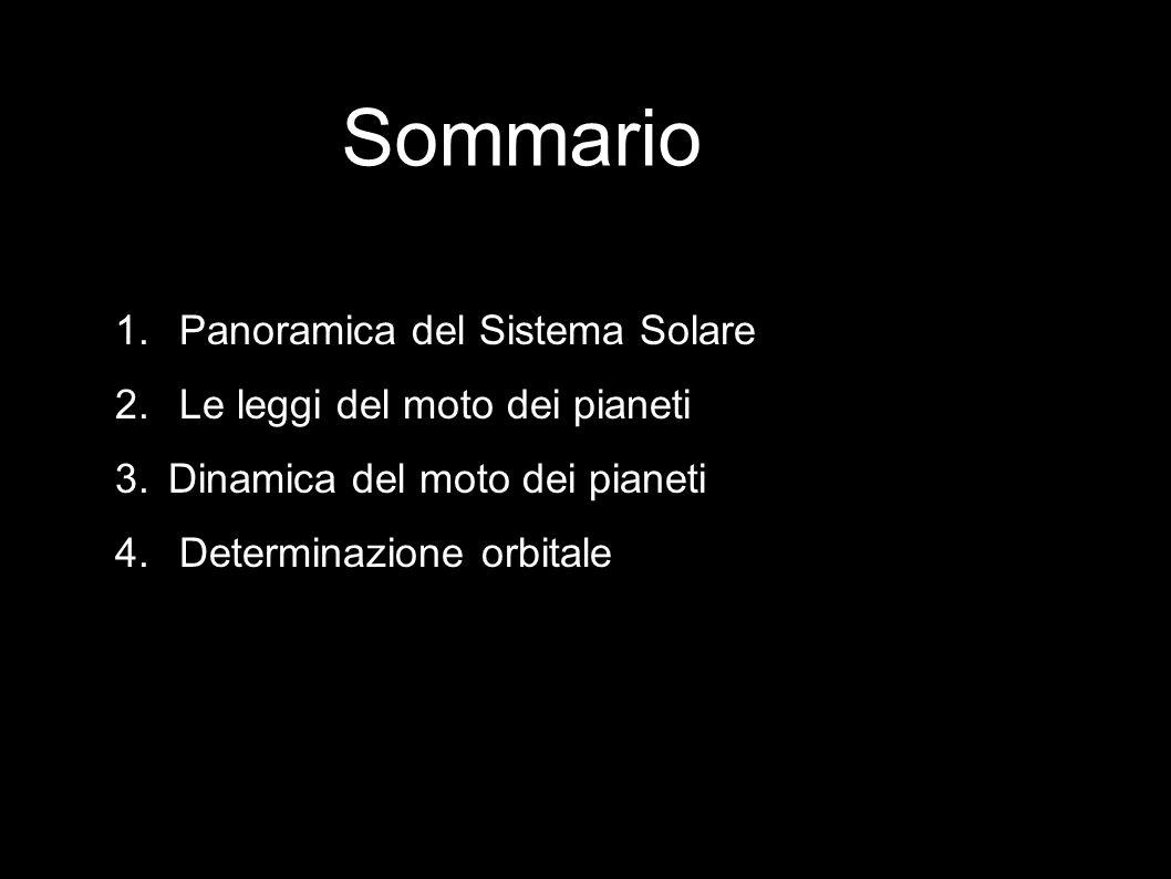 1 Panoramica del Sistema Solare