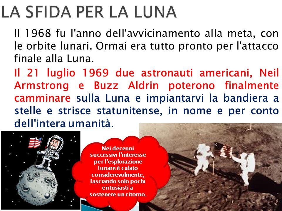 Il 1968 fu l anno dell avvicinamento alla meta, con le orbite lunari.
