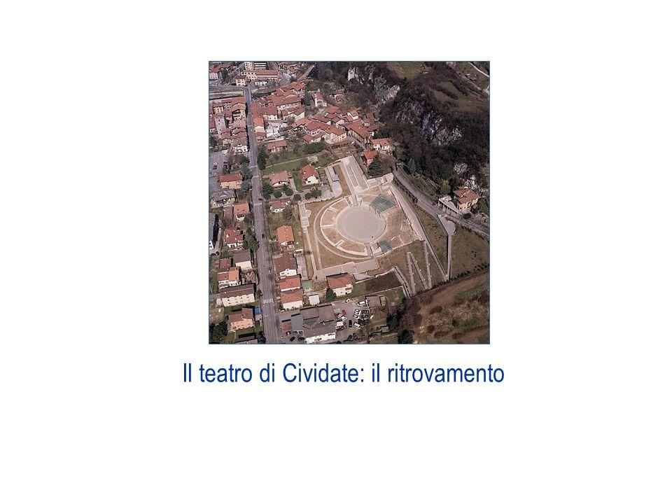 Il percorso propone infine una ricostruzione del teatro romano di Cividate basata sullanalisi dei resti e sul confronto tra permanenze archeologiche, indicazioni teoriche ed altre realizzazioni note.