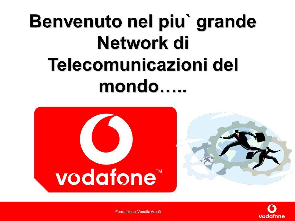 Formazione Vendite Area3 Benvenuto nel piu` grande Network di Telecomunicazioni del mondo…..