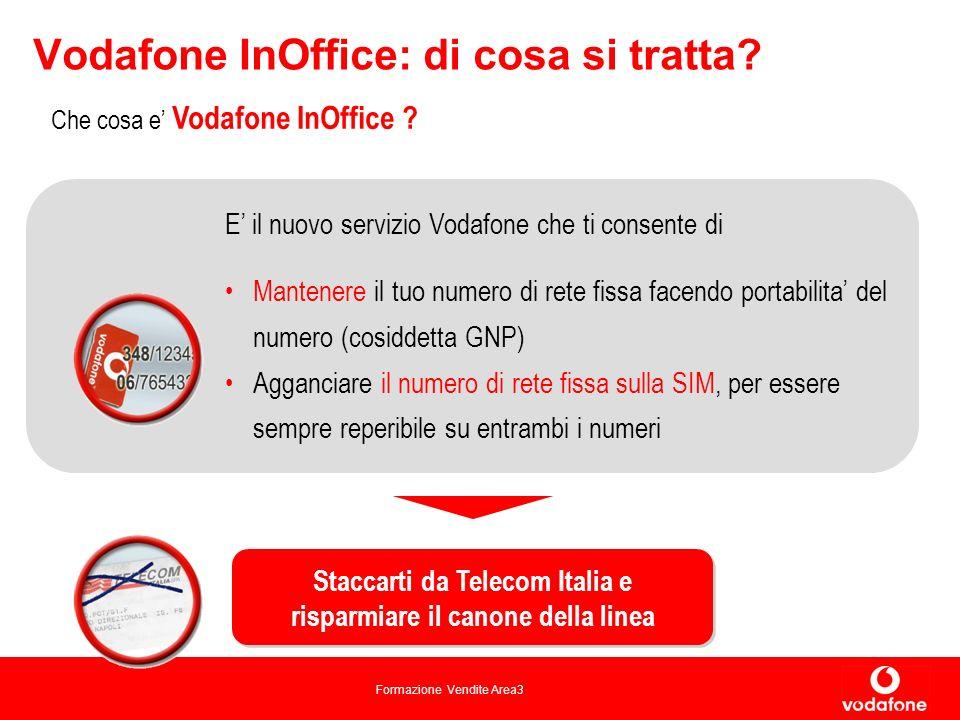 Formazione Vendite Area3 Vodafone InOffice: di cosa si tratta.