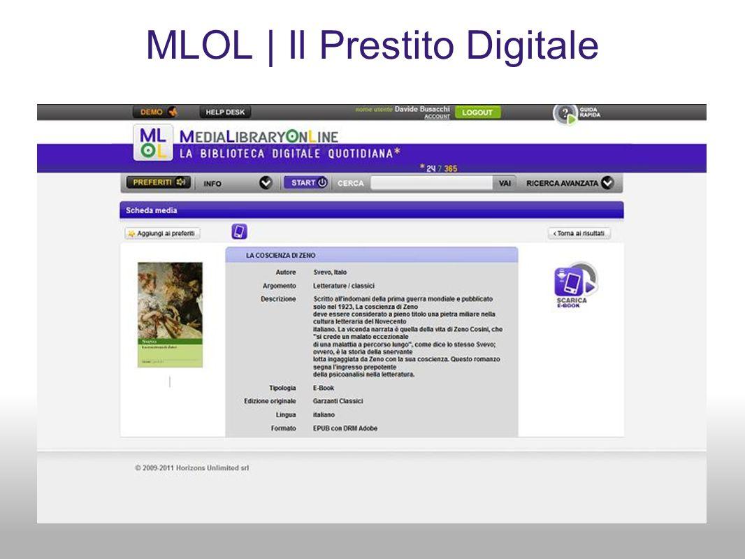 MLOL | Il Prestito Digitale