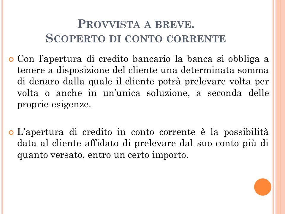 P ROVVISTA A BREVE : A NTICIPI SU RI.BA.