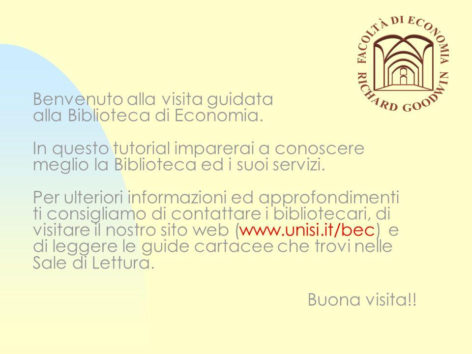 Informazioni generali Due sale di lettura Accesso per studenti e docenti della facoltà ed utenti esterni Oltre 193.000 monografie e 3300 periodici