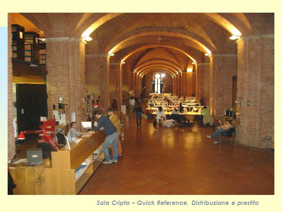 Sala Cripta – Quick Reference, Distribuzione e prestito