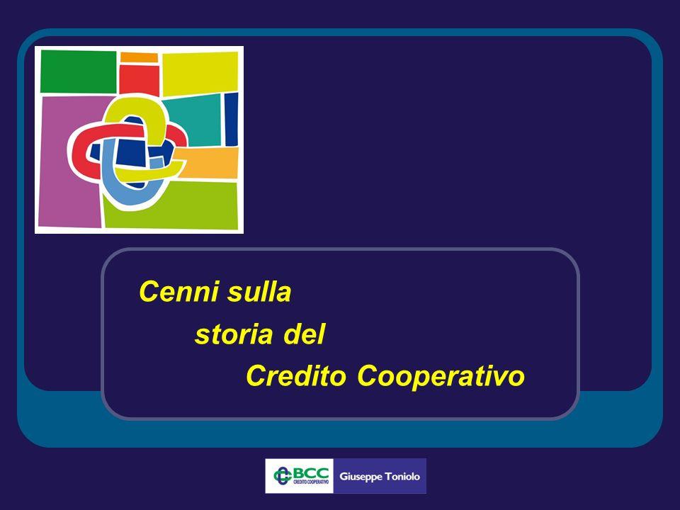 Cenni sulla storia del Credito Cooperativo
