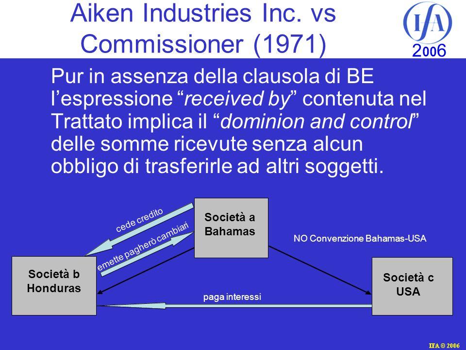 IFA © 2003 2 00 6 Aiken Industries Inc.