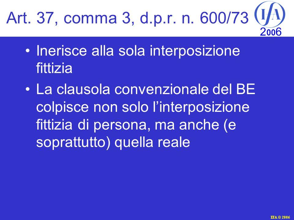 IFA © 2003 2 00 6 Art.37, comma 3, d.p.r. n.