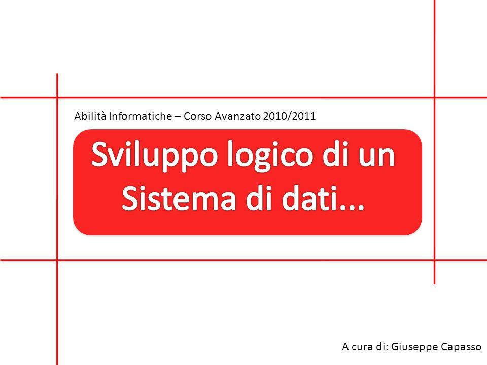 Abilità Informatiche – Corso Avanzato 2010/2011 A cura di: Giuseppe Capasso