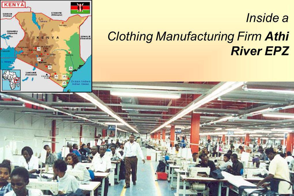 1212 Inside a Clothing Manufacturing Firm Athi River EPZ