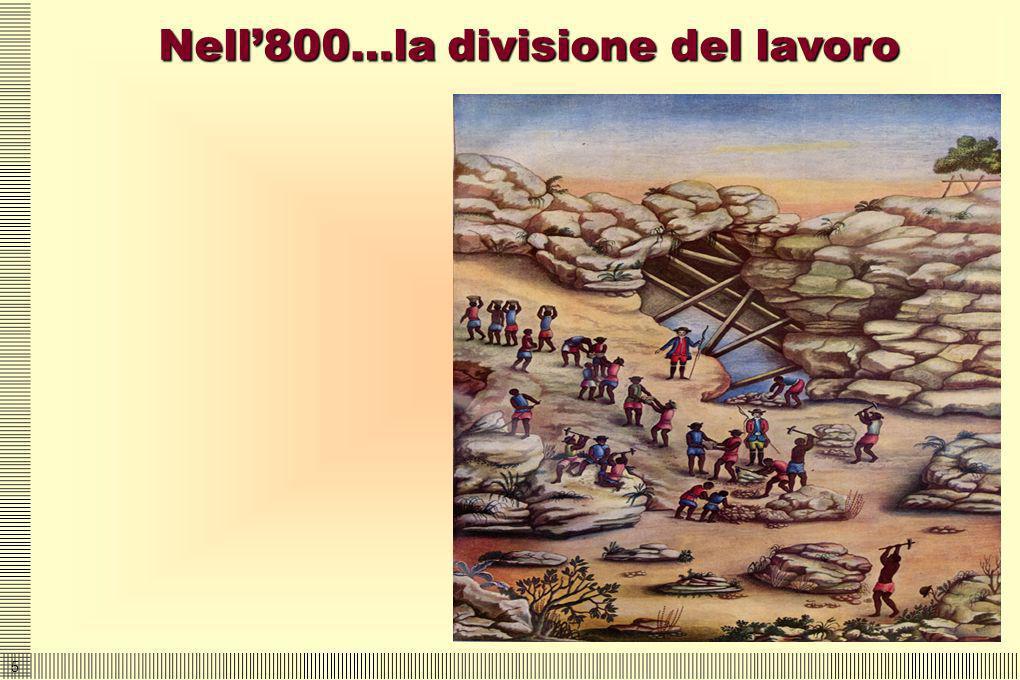 5 Nell800…la divisione del lavoro