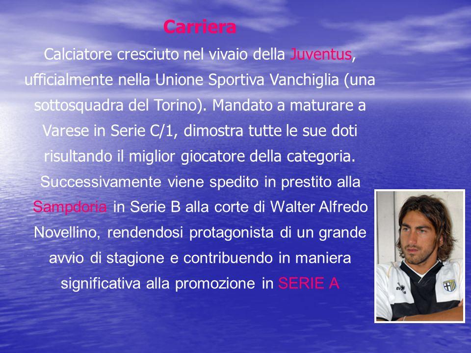 Carriera Calciatore cresciuto nel vivaio della Juventus, ufficialmente nella Unione Sportiva Vanchiglia (una sottosquadra del Torino). Mandato a matur