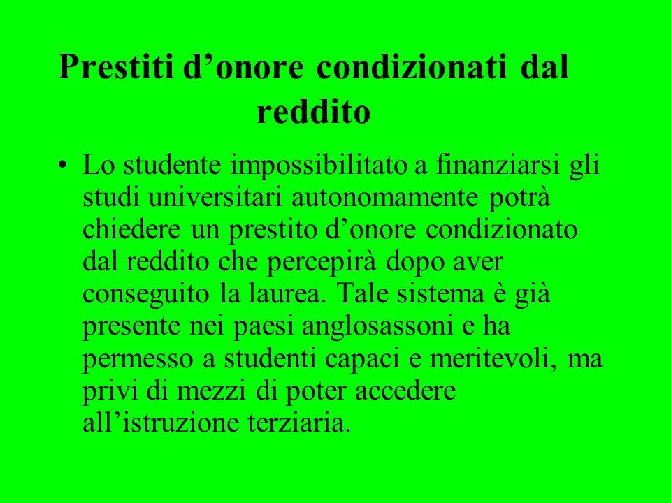 Aumentare la mobilità degli studenti universitari Italia 2% degli studenti alloggia in residenze universitarie Germania10% Svezia 16%